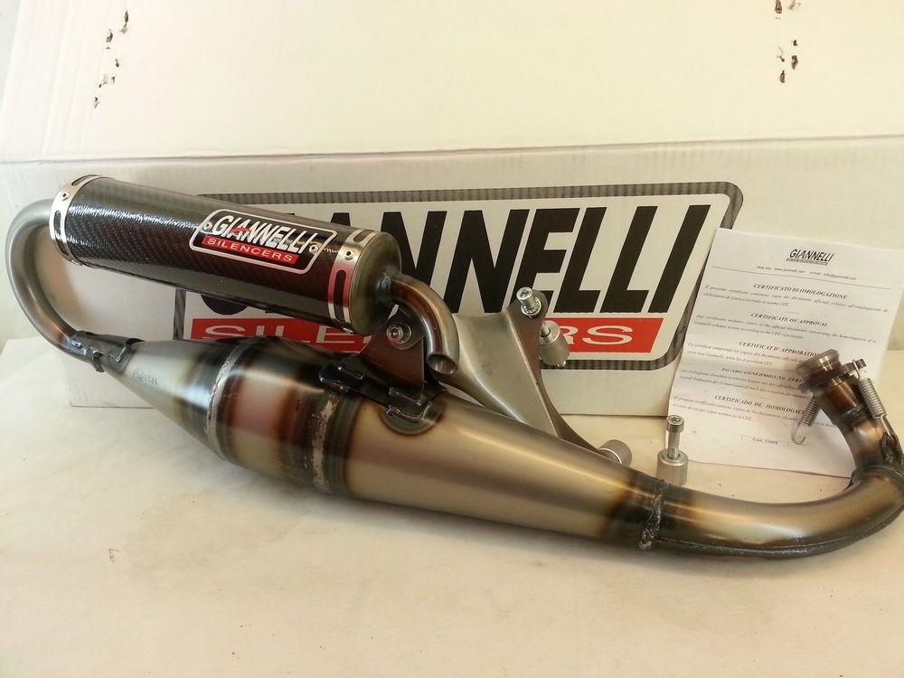 Marmitta Giannelli EXTra V2 Aprilia SR 50 Motard 12-15