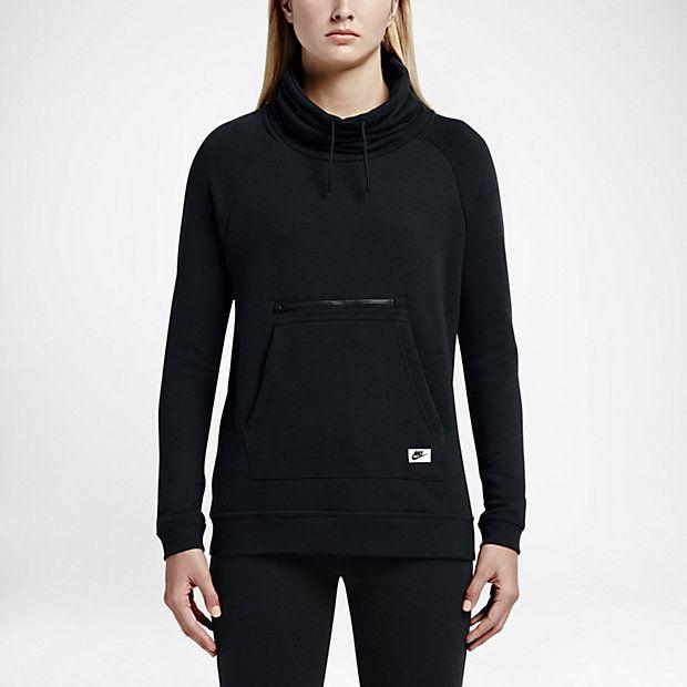 c198b3b50043 Nike Sportswear Modern Women s Funnel-Neck Sweatshirt