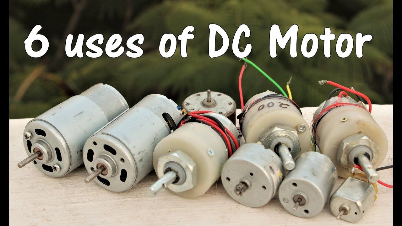 8a256aa143e 6 useful things from DC motor - DIY Electronic Hobby