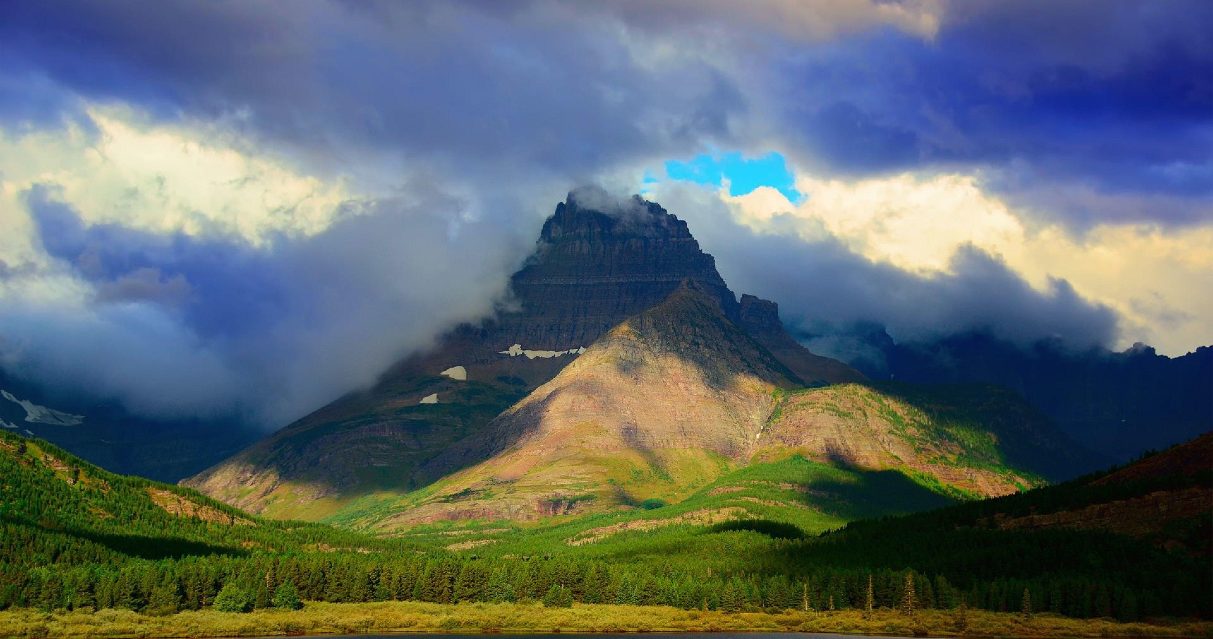 glacier national park usa 4k ultra hd wallpaper (With