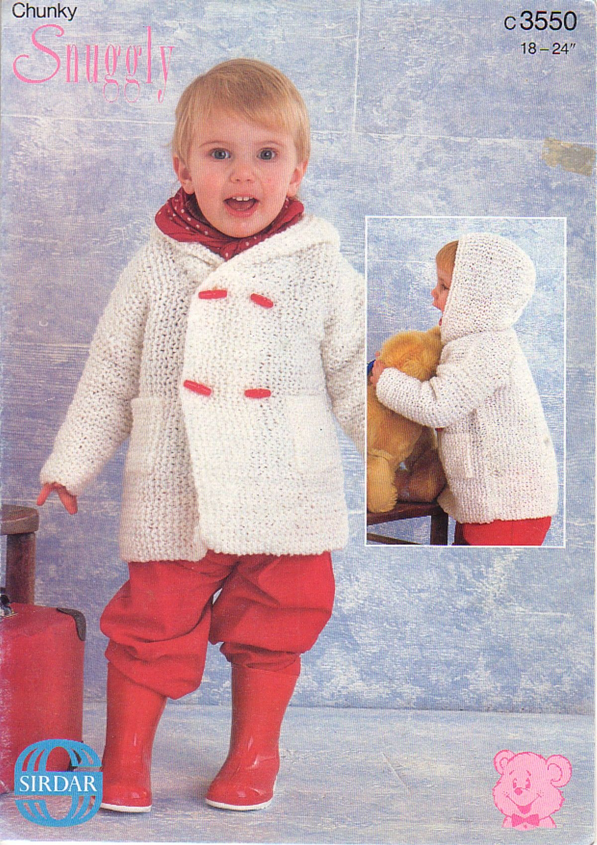 Sirdar knitting patterns 3550 chunky childrens duffle coat sirdar knitting patterns 3550 chunky childrens duffle coat bankloansurffo Images