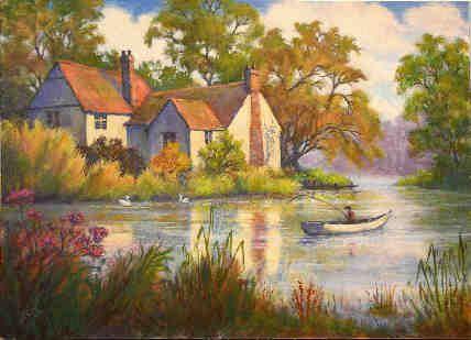 Famous Watercolor Paintings Google Search Landscape Paintings