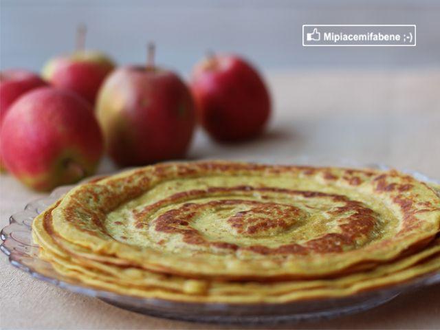 Mipiacemifabene ;-) di Federica Gif: Crêpes alle Mele Sugarfree e La Prova del Cuoco!