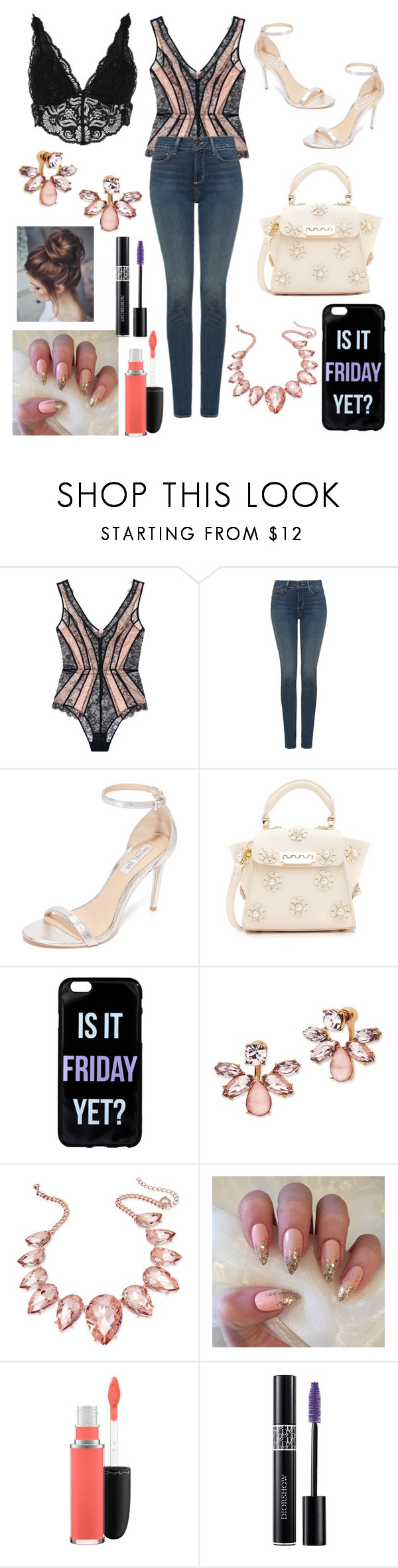 """Street Style #51"" by laughlikecrazy on Polyvore featuring Agent Provocateur, NYDJ, Rachel Zoe, ZAC Zac Posen, Marchesa, Thalia Sodi, MAC Cosmetics, Christian Dior and River Island"