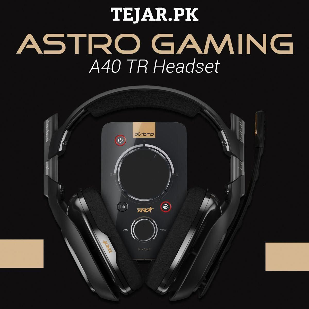 The ASTRO A40 TR Headset for PS4, PC, and Mac is the