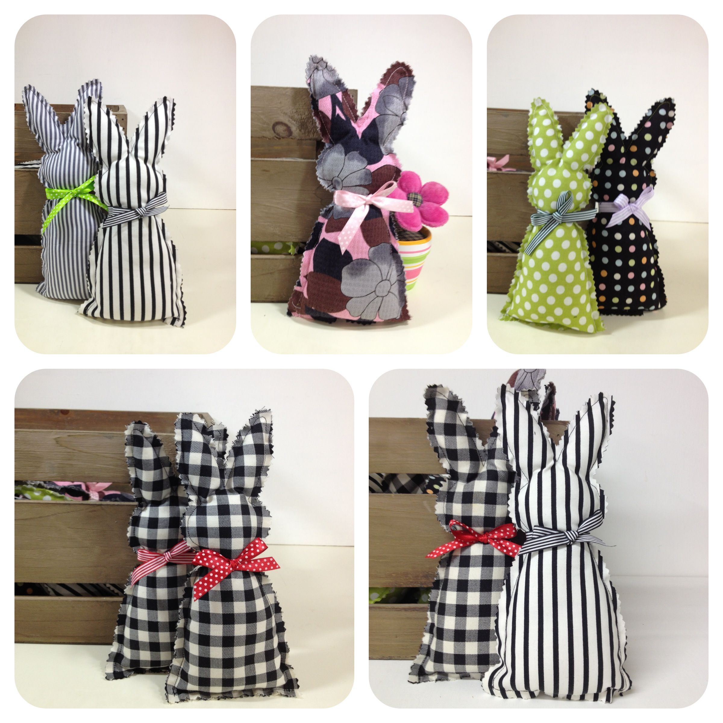 bunnies! <3   Osterdeko   Pinterest   Conejo, Costura y Peso de porta