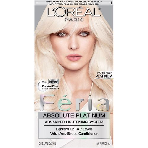 L Oreal Paris Feria Hair Color Advanced Lightening System