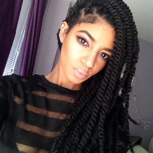 Havana Marley Twists Tutorial Shinestruck... | Hair | Pinterest ...