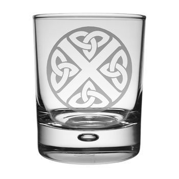 Celtic Saltire Whisky Tumbler . . Sold by TartanPlusTweed.com A family owned kilt and gift shop in the Scottish Borders