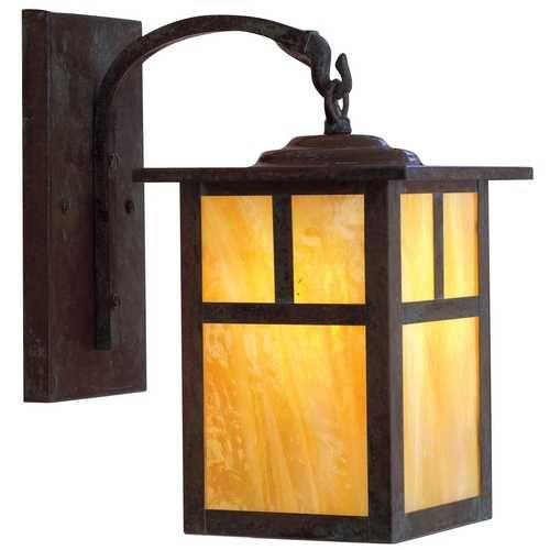 11 58 inch outdoor wall light arroyo craftsman lighting 11 58 inch outdoor wall light mb aloadofball Gallery