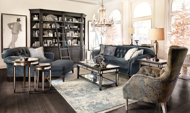 Both Luxurious Inviting The Arhaus Preston Tufted Upholstered Sofa In Vernon Smoke Offers Comfort A Bit Of Shine
