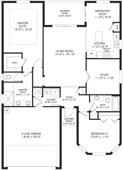 Beatiful St Andrews Ii Floor Plan Has A Very Open Layout New Homes For Sale Floor Plans New Homes