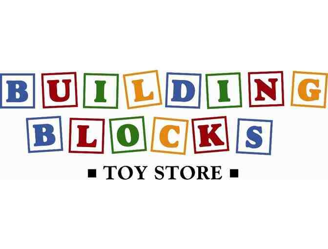 Winner receives $35 Gift Certificate to redeem at Building Blocks Toy Store. At Building Blocks Toy Store, we love to have fun. In fact, you could call us