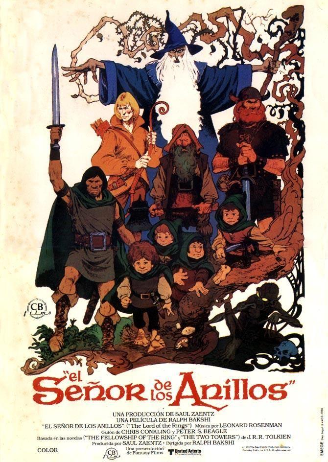 Ver El Senor De Los Anillos 1978 Online Espanol Latino Y Subtitulada Hd Yaske To Lord Of The Rings Ralph Bakshi Comic Book Cover