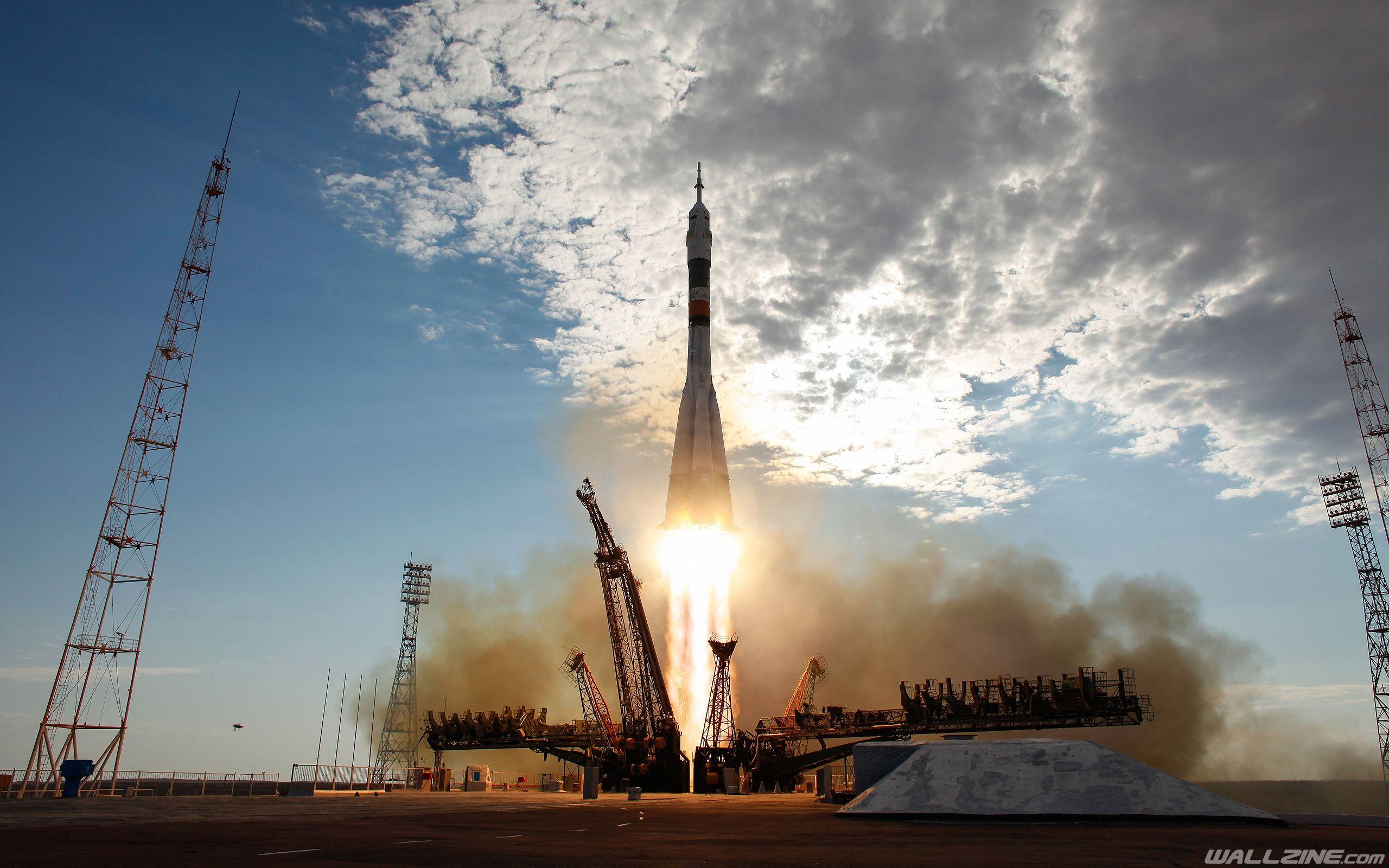 Soyuz Rocket Launch Wallpaper