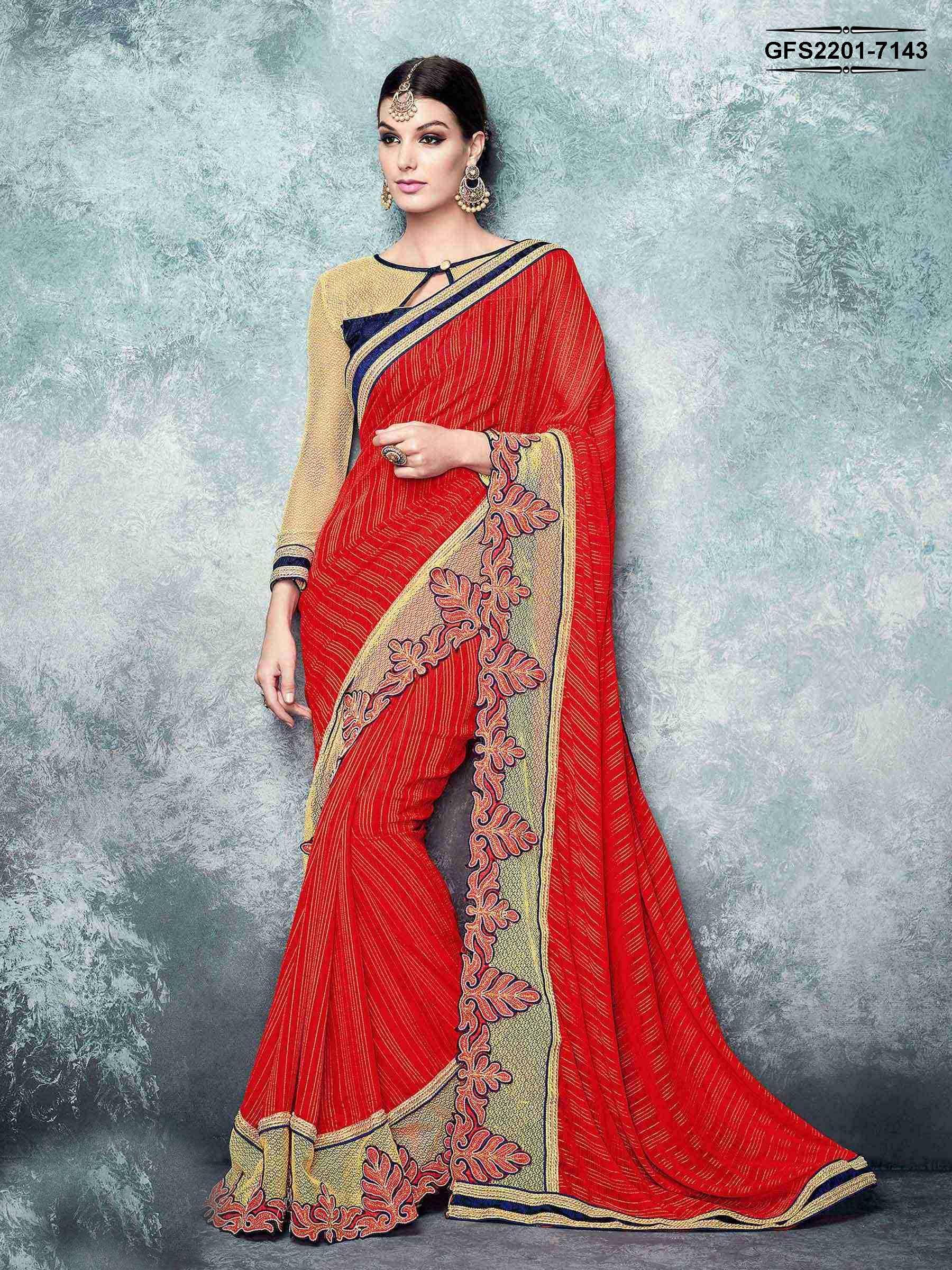 Saree blouse design for chiffon saree shop this saree gunjfashion   solitaire  charming