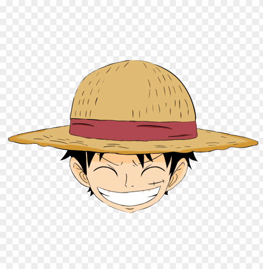 Kepala Luffy Png Image With Transparent Background Png Free Png Images Luffy Free Png Png