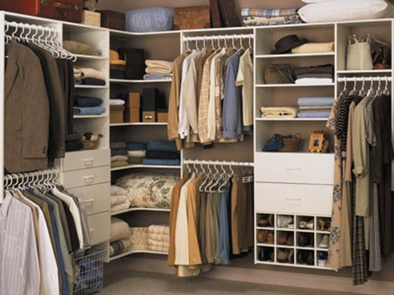 Closet Shelving Ideas for Corner Wall | 46B#1 Closety | Pinterest ...