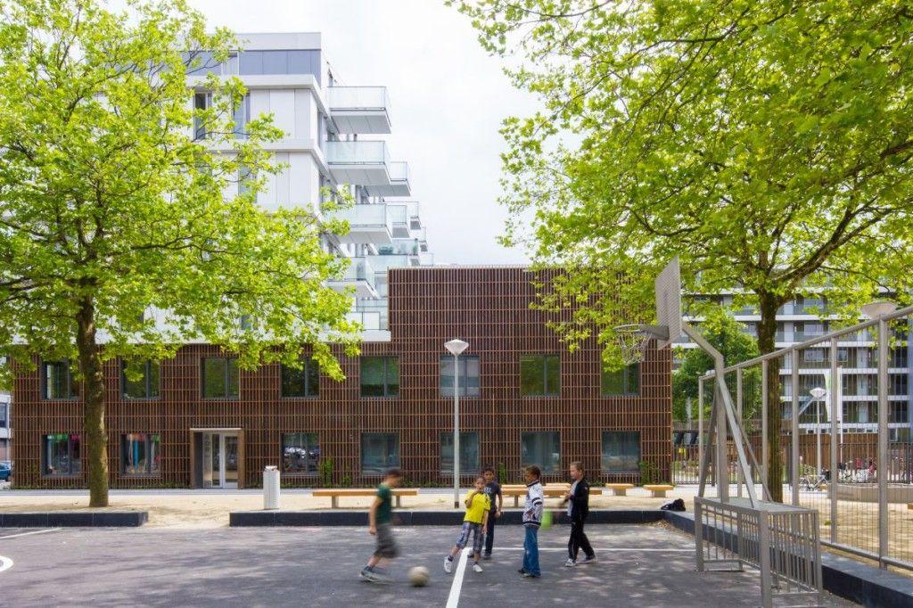 Stedelijk bouwblok Delflandplein