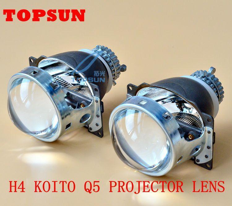 Car Light Parts Hid 3 0 Inch Bi Xenon Koito Q5 Hid Projector Lens D2r D2s D2h Xenon Bulb With High Brightness Hidden Projector Projector Lens Car Lights