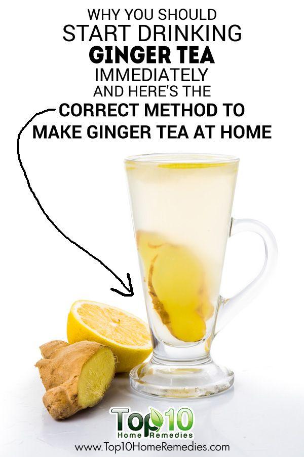 DIY Ginger Tea and Its Health Benefits | DIY Natural Homemade