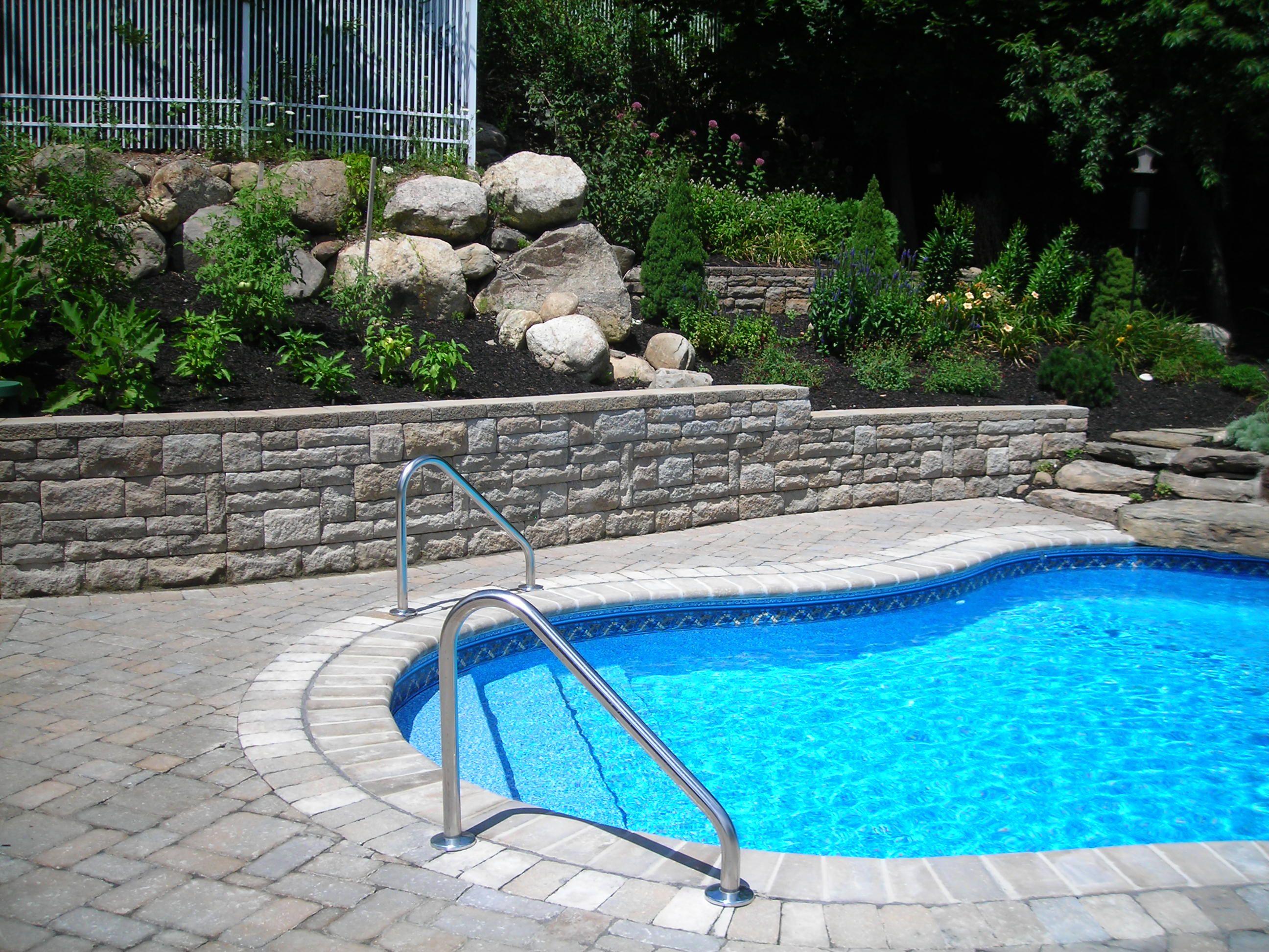 B B Pool And Spa Blog Inground Pool Landscaping Swimming Pools Inground Backyard Pool Landscaping