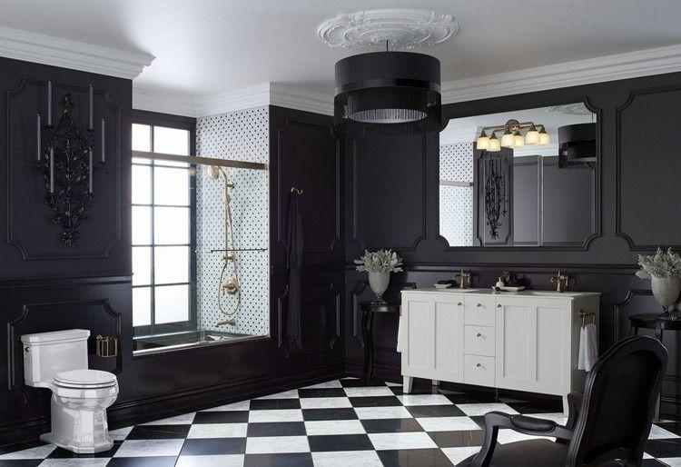 Salle de bain noire 40 idées de design moderne à découvrir vite