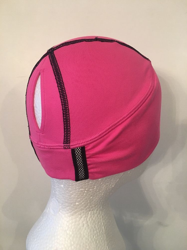 d7cfb3983cc16 Lululemon Brisk Run Bennie Toque Raspberry Glo / Black Swan Reflective EUC  # fashion #clothing #shoes #accessories #womensaccessories #hats (ebay link)
