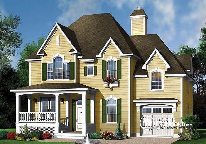 W3428 - Maison avec grand espace boni, plafond 10u0027, 3 chambres, 2