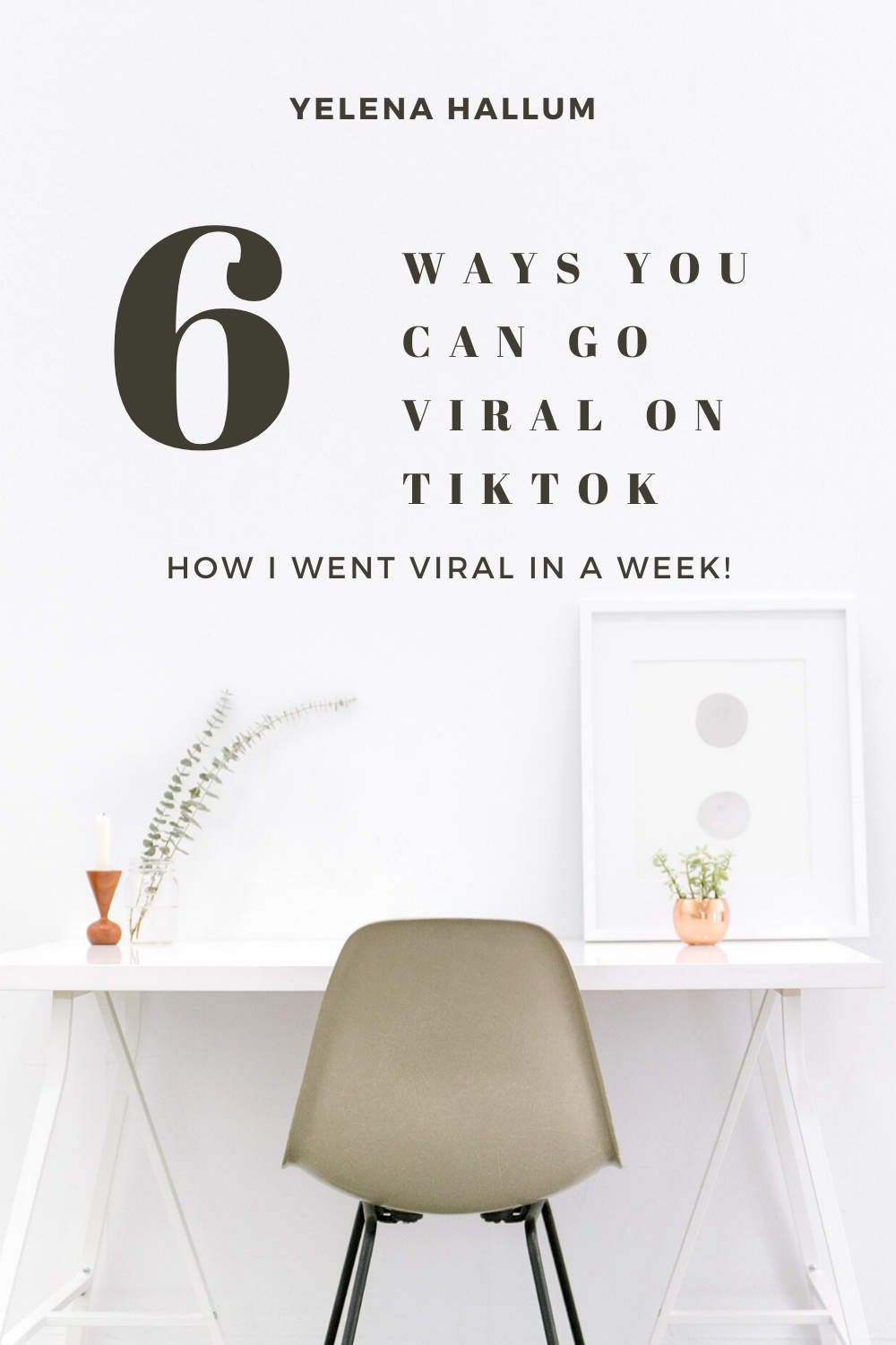 How To Go Viral On Tik Tok In A Week Or Less Your Millennial Mom Social Media Growth Strategy Social Media Growth Instagram Growth