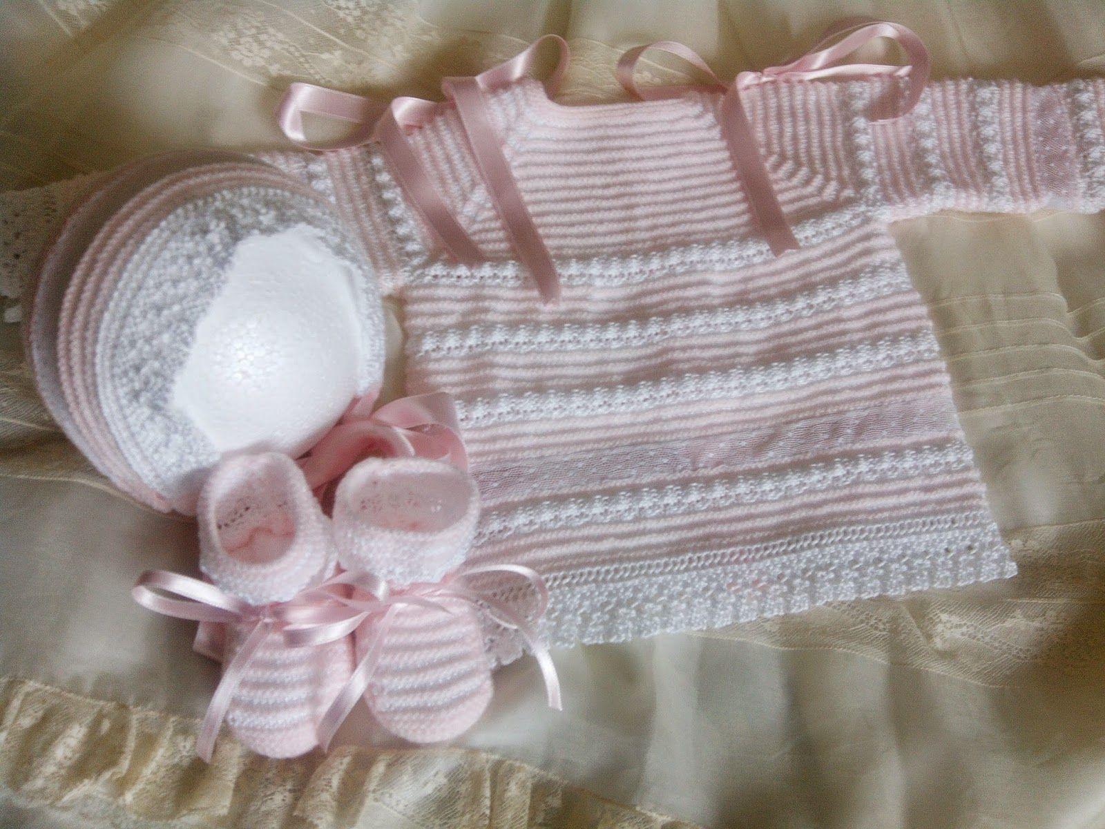 Blog De Canastilla En Lana Para Bebe Hecho A Mano Vestidos De Bebê Trico Modelos De Casaquinhos