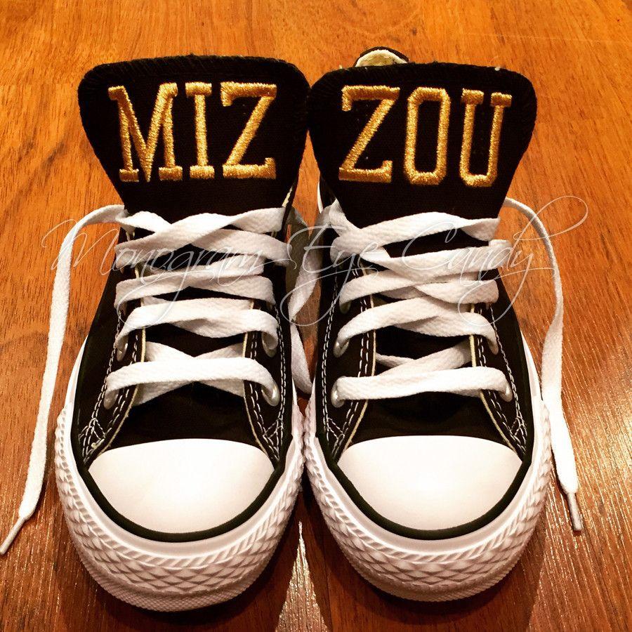 eff615252f215e Customized Converse Sneakers-MIZZOU Edition (adult) – Monogram Eye Candy