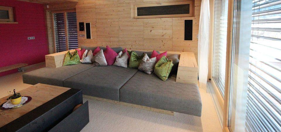 Couch Vom Tischler Wohnen Wohnung Kamin Wohnzimmer