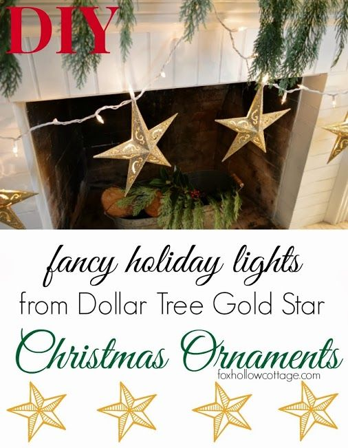 Shannon Fox - Google+ - Diy Yourself Fancy #Christmas Lights from Dollar  Tree… - Shannon Fox - Google+ - Diy Yourself Fancy #Christmas Lights From