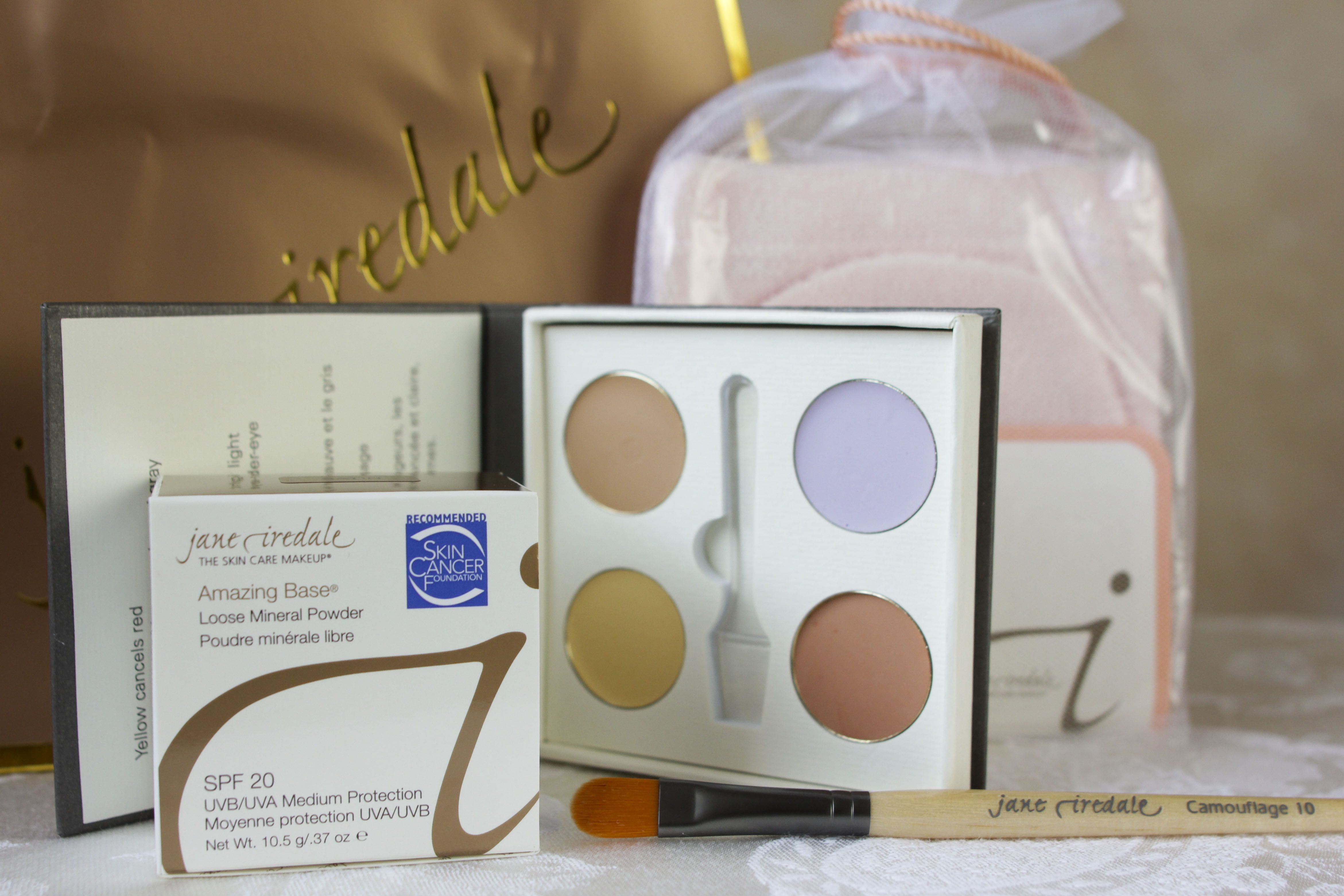 Post Op makeup kit from our Jane Iredale Mineral makeup