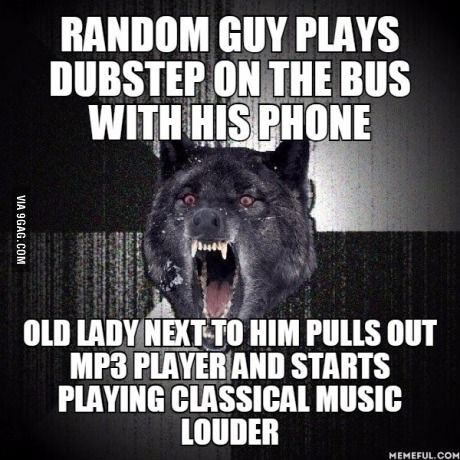Shocked He Got Out At The Next Stop Insanity Wolf Insanity Wolf Meme Best Funny Pictures