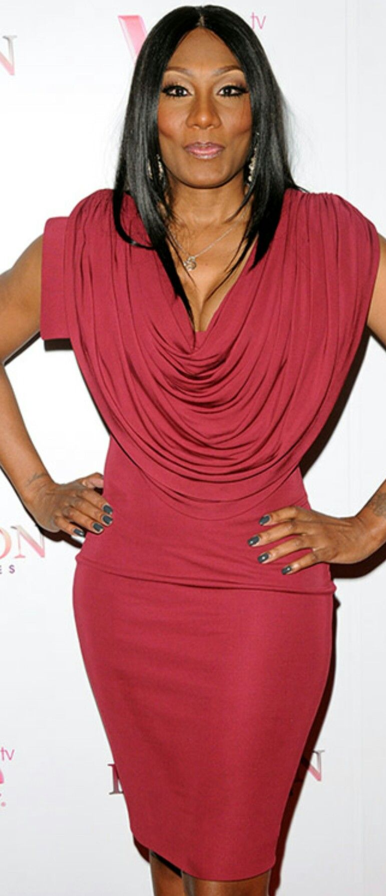 Towanda Braxton The Braxtons High Neck Dress Dresses