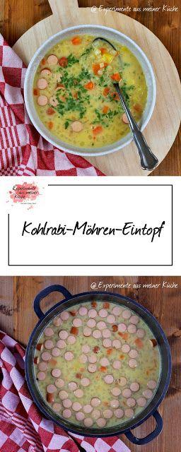 Kohlrabi-Möhren-Eintopf #soupandsalad
