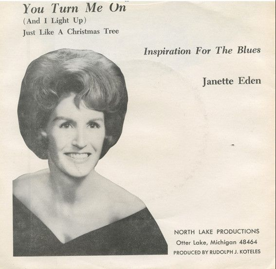 Janette Eden - You Turn Me On (And I Light Up) Just Like A Christmas Tree (Vinyl) at Discogs