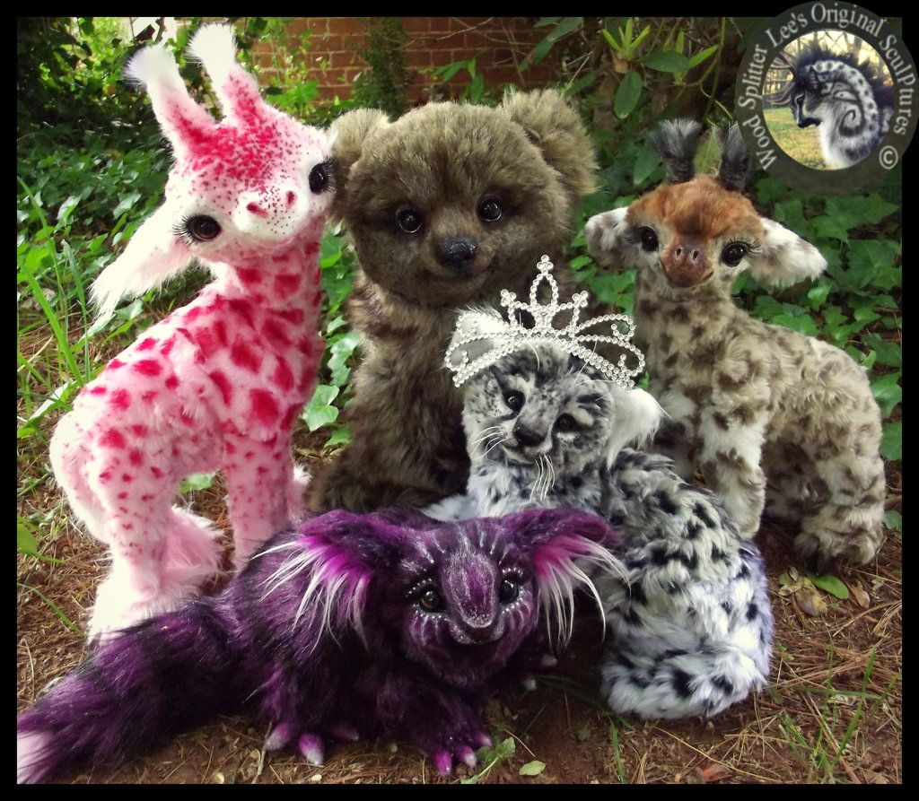 Waldtiere Kostüme I 39ll Take Them All Please Sold Handmade Poseable Baby