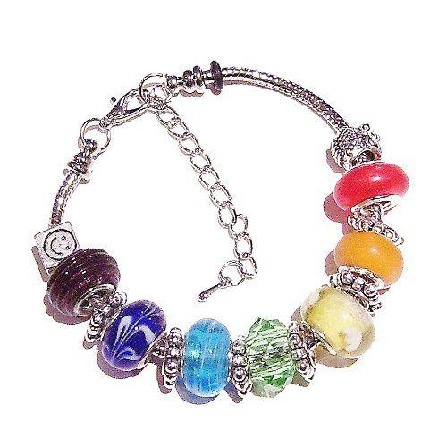 Pandora Chakra Meditation Bracelet - http://www.sparklingheaven.com/chakra