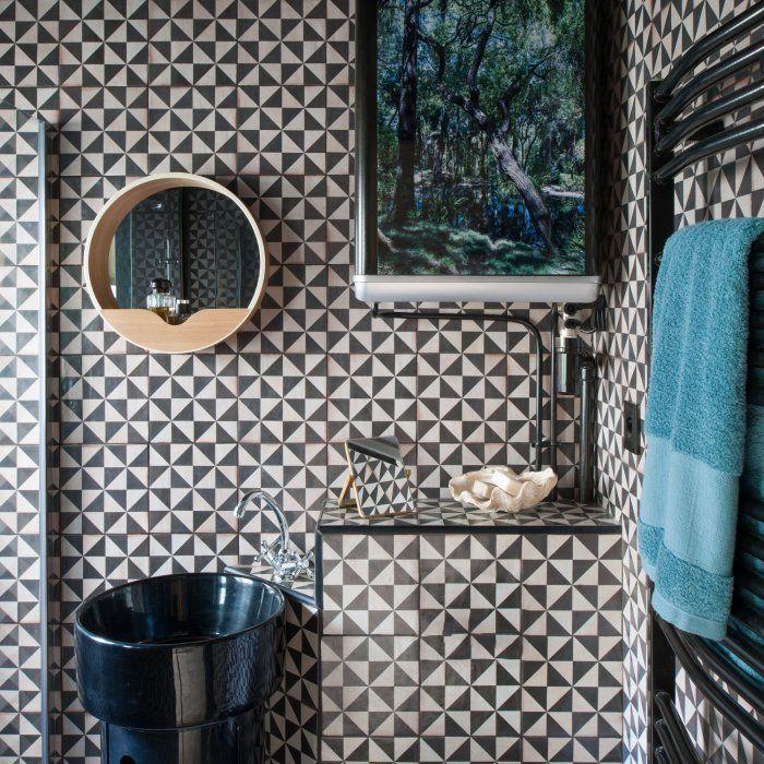 de place : aménager une salle de bains de 2m2