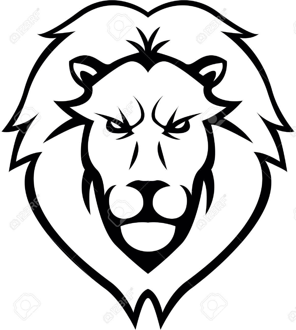 Lion Head illustration design , AFFILIATE, Head, Lion