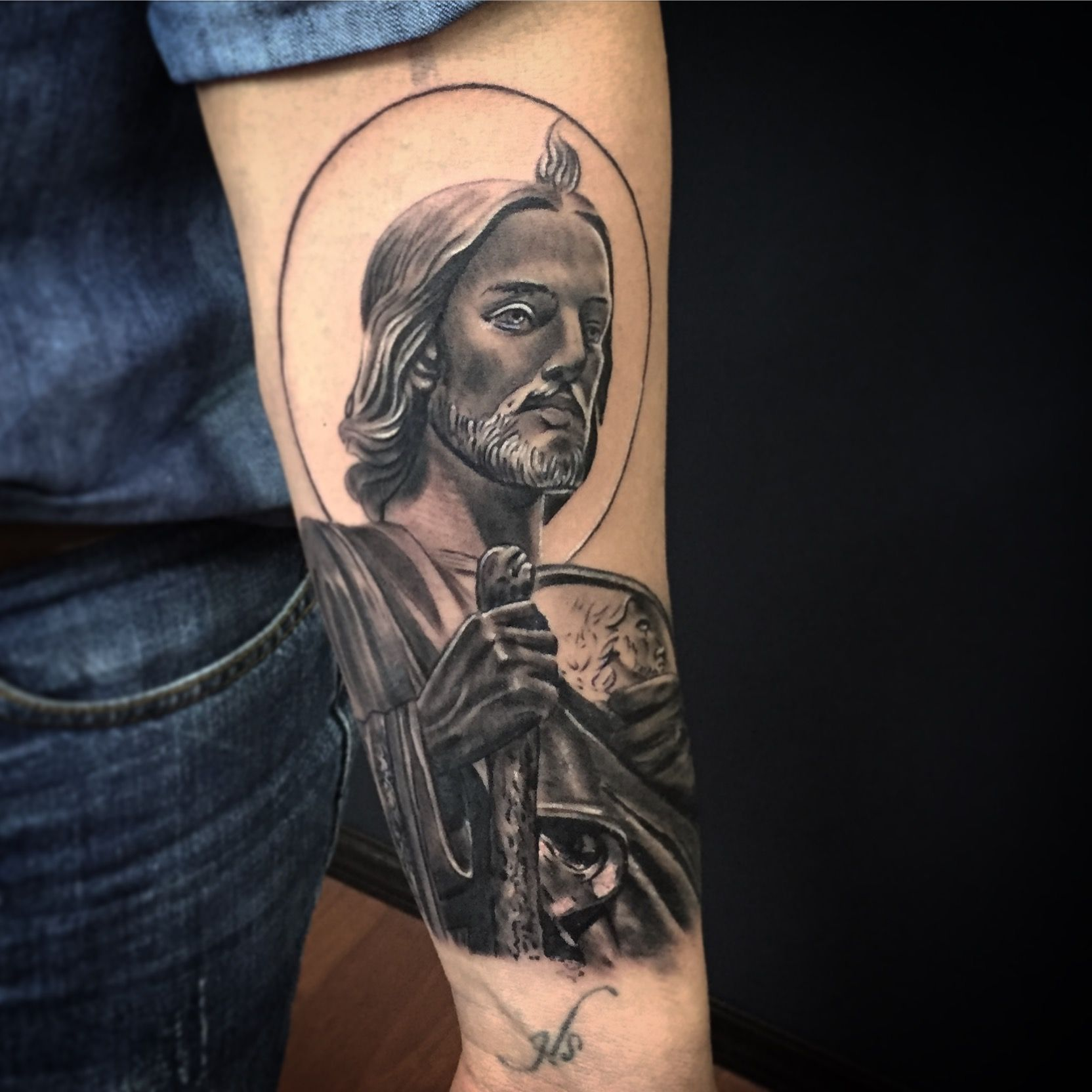 San Judas Tadeo Tattoo Tattoos Tatuajes Originales Tatuajes De