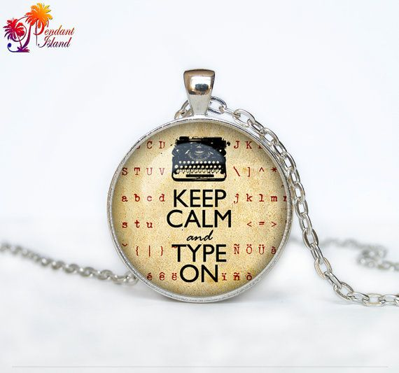 Hey, I found this really awesome Etsy listing at https://www.etsy.com/listing/152494277/old-typewriter-necklace-old-typewriter