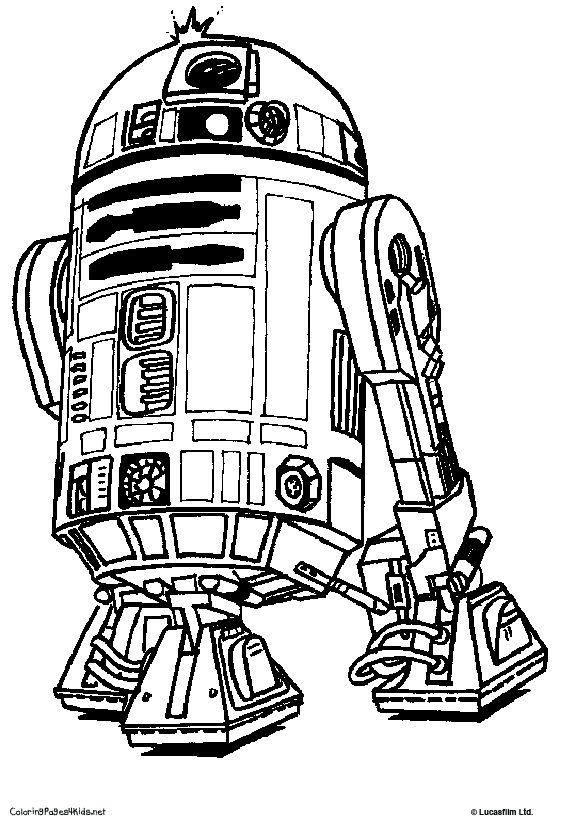 coloring pages--all kinds including star wars   school - fine ... - Starwars Coloring Pages Printable