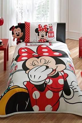0240462c05374 Edredones de minnie mouse para habitaciones infantiles