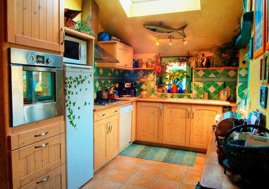 aménagement décoration cuisine colorée