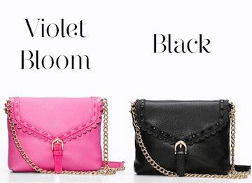 Pretty & Polished. What's your favorite color? http://bit.ly/PolishedLeatherBag
