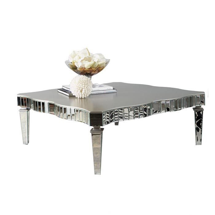 Amelie Coffee Table With Images Coffee Table Mirrored Coffee